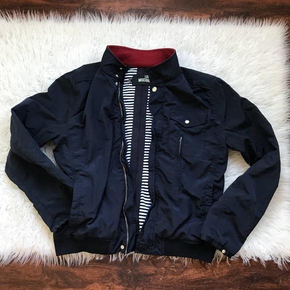 c2bfbbbbf4 Love Moschino Jackets & Blazers - Love Moschino Blue Bonber Jacket 18  Women's.